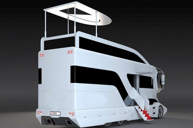 World S Most Expensive Motorhome Motion Trgger